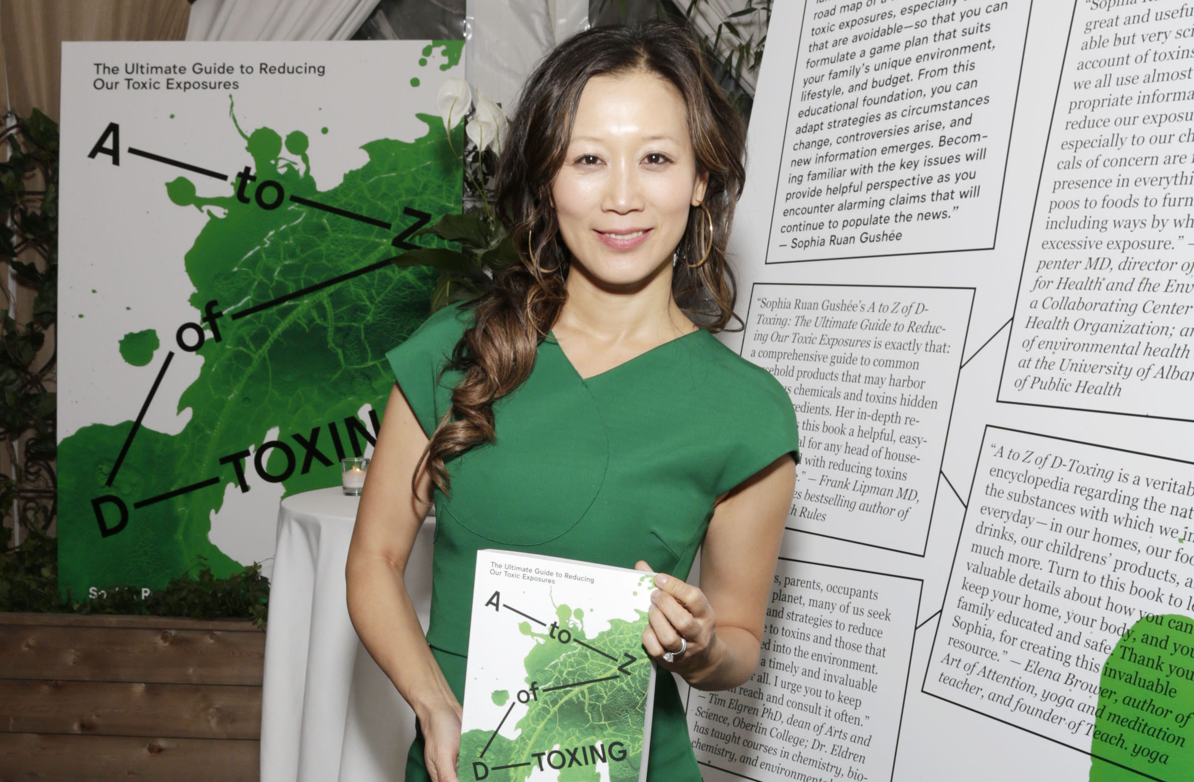 Sophia Ruan Gushee== A to Z of D-Toxing: The Ultimate Guide to Reducing Our Toxic Exposures Book Launch== The NoMad, NYC== October 20, 2015== ©Patrick McMullan== Photo - Victor Hugo/PatrickMcMullan.com==